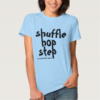 chemise de taqueur d'étape d'houblon de pas t-shirts