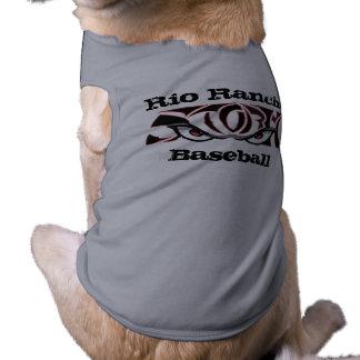Chemise de tempête de flamme t-shirt pour chien