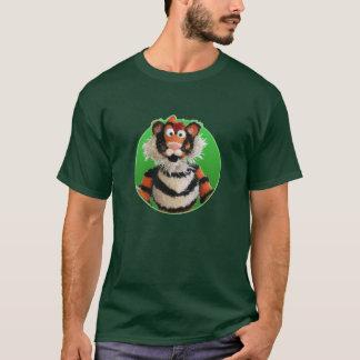 Chemise de tigre t-shirt