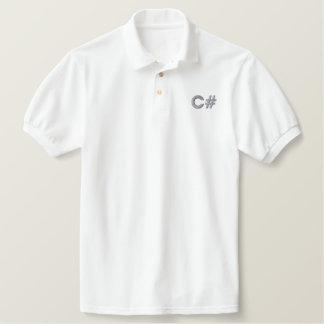 Chemise de travail de C# Polo