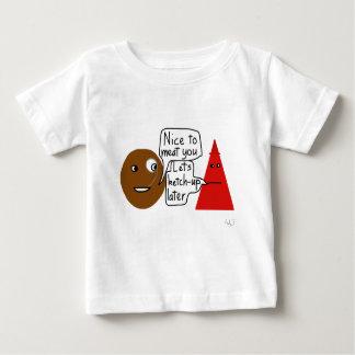 Chemise de viande et de ketchup t-shirt pour bébé