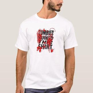 Chemise de zombi t-shirt