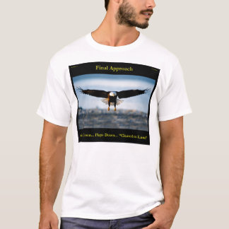 Chemise d'Eagle chauve des hommes d'approche T-shirt