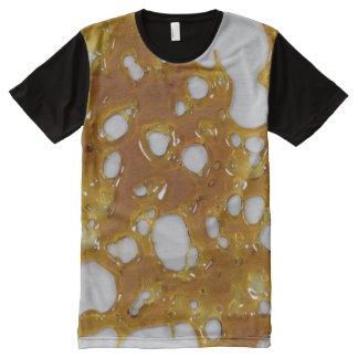 Chemise d'éclat t-shirt tout imprimé