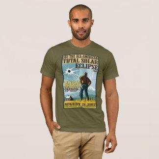 Chemise d'éclipse solaire de Madras 2017 T-shirt