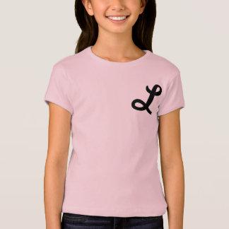 chemise décorée d'un monogramme des années 1950 t-shirt