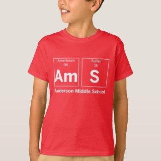 Chemise d'éléments de collège d'Anderson T-shirt
