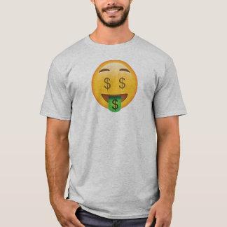 Chemise d'Emoji d'argent T-shirt