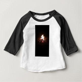 Chemise d'enfant d'insperational de mine du feu t-shirt pour bébé