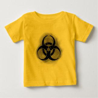 Chemise d'enfant en bas âge de Biohazard de zombi T-shirt Pour Bébé
