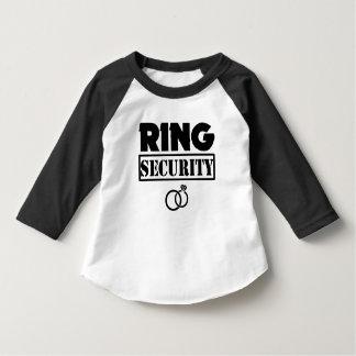 Chemise d'enfant en bas âge de sécurité d'anneau t-shirt