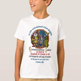 Chemise d'enfants de MCM quarantième T-shirt