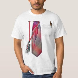 Chemise d'entreprise blanche t-shirts