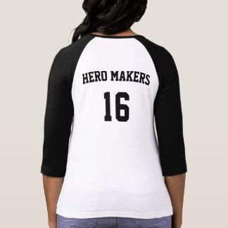 Chemise des fabricants 16 de héros de CCA T-shirt