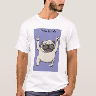 Chemise d'étreinte de carlin t-shirt