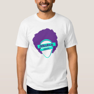 Chemise DÉTRUITE par musique ridicule T-shirt