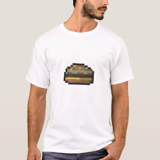 Chemise d'hamburger de 8 bits t-shirt