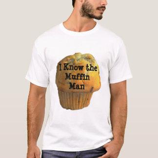 Chemise d'homme de petit pain t-shirt