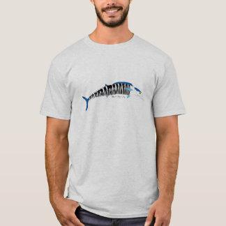 Chemise d'illustration de poissons de Wahoo T-shirt
