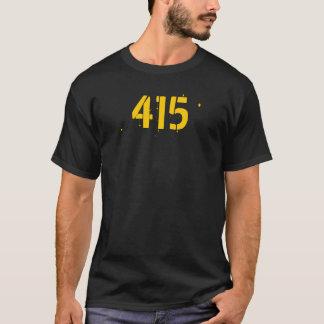 Chemise d'indicatif régional 415 t-shirt