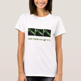 Chemise d'insecte d'état de la Caroline Grrl T-shirt