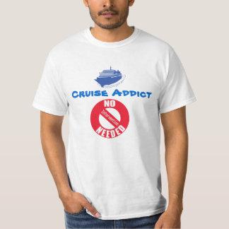 Chemise d'intoxiqué de croisière t-shirt