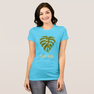 Chemise d'oasis de Palm Beach T-shirt
