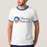 Chemise d'Obama Biden '08 T-shirts