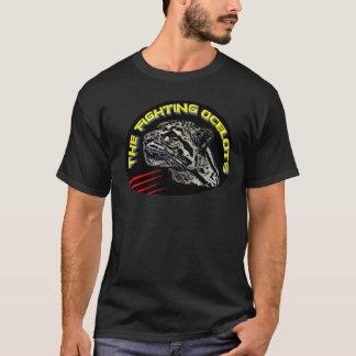 Chemise d'Ocelot du combat des hommes T-shirt