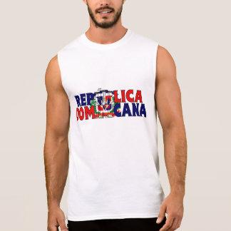 Chemise dominicaine t-shirts sans manches