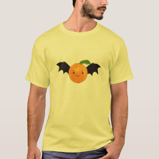 Chemise d'orange de batte t-shirt