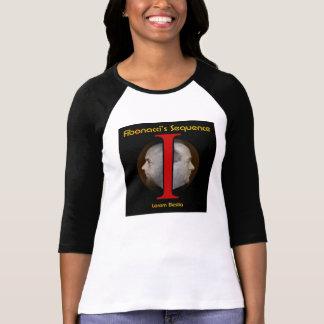 Chemise d'ordre de dames Fibonacci T-shirt