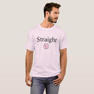 Chemise droite t-shirt