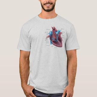 Chemise drôle d'anatomie de coeur t-shirt