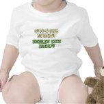 Chemise drôle de bébé : Mignon comme la maman, pua Barboteuse