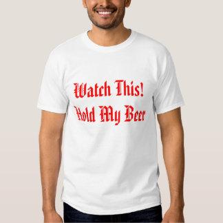 Chemise drôle de bière t-shirt
