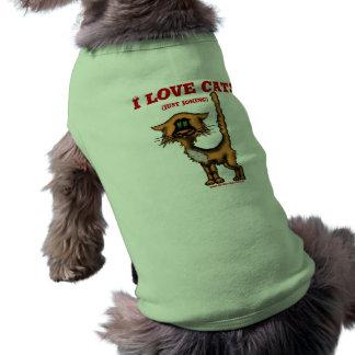 Chemise drôle de chien t-shirts pour toutous