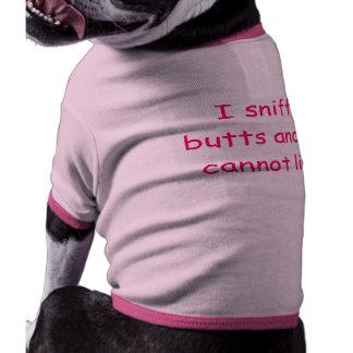 Chemise drôle de chien tee-shirts pour chien