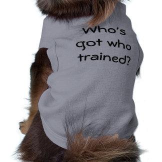 Chemise drôle de chien manteaux pour chien