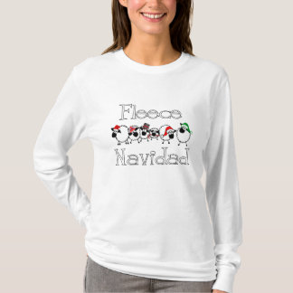 Chemise drôle de Navidad d'ouatine T-shirt