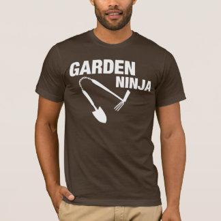 Chemise drôle de Ninja de jardin ! T-shirt
