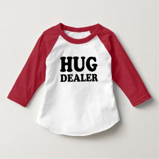 Chemise drôle d'enfant en bas âge de marchand t-shirt