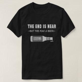 Chemise drôle d'enterrement de vie de jeune garçon t-shirt