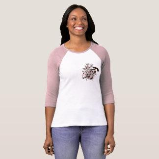 """Chemise du base-ball des femmes """"de voleur de t-shirt"""