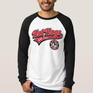 Chemise du base-ball des hommes classiques chauds t-shirt
