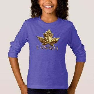 Chemise du Canada de souvenir d'or de sweatshirt