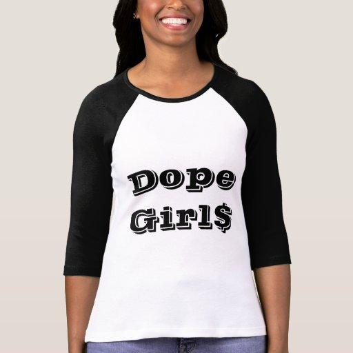 Chemise du dopant Girl$ (longue douille) T-shirt