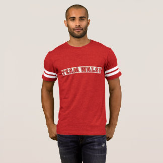 Chemise du football de Walsh d'équipe T-shirt