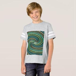 Chemise du football des enfants t-shirt
