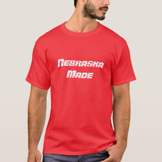 Chemise du Nébraska T-shirt